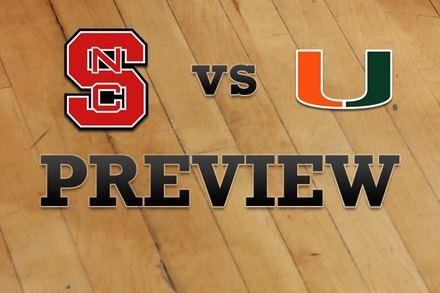 NC State vs. Miami: Full Game Preview