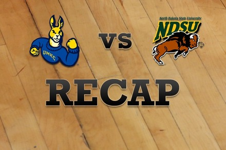 UMKC vs. North Dakota State: Recap, Stats, and Box Score