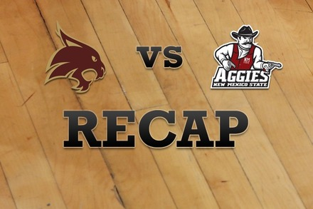 Texas State vs. New Mexico State: Recap, Stats, and Box Score