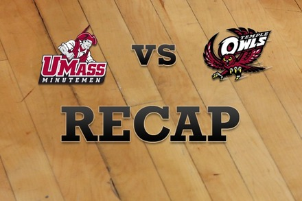 Massachusetts vs. Temple: Recap, Stats, and Box Score