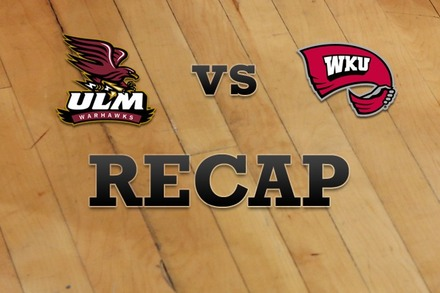 Louisiana-Monroe vs. Western Kentucky: Recap, Stats, and Box Score