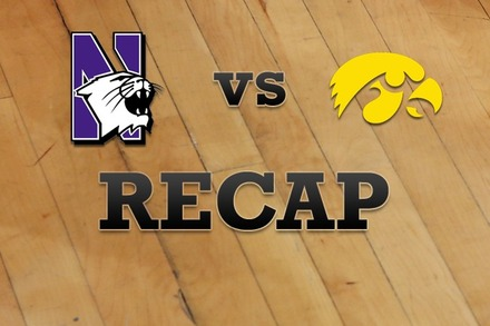 Northwestern vs. Iowa: Recap, Stats, and Box Score