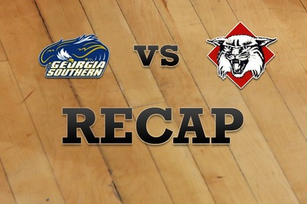 Georgia Southern vs. Davidson: Recap, Stats, and Box Score