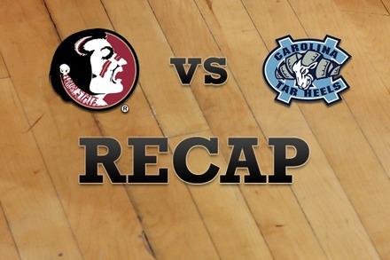 Florida State vs. North Carolina: Recap, Stats, and Box Score