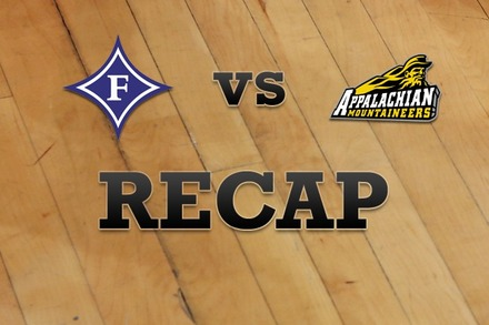 Furman vs. Appalachian State: Recap, Stats, and Box Score