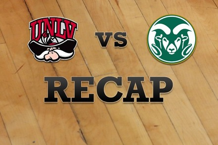 UNLV vs. Colorado State: Recap, Stats, and Box Score