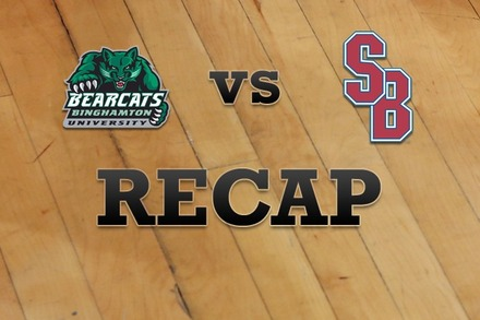 Binghamton vs. Stony Brook: Recap, Stats, and Box Score