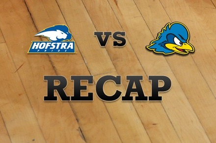 Hofstra vs. Delaware: Recap, Stats, and Box Score