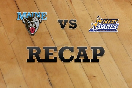 Maine vs. Albany: Recap, Stats, and Box Score