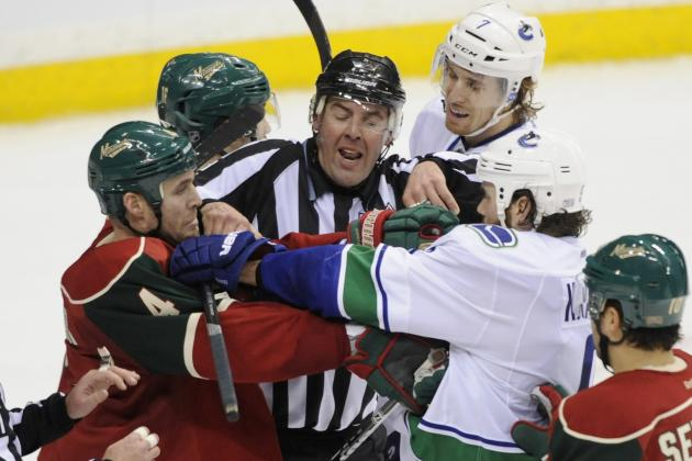 Minnesota Wild vs. Vancouver Canucks - GameCast - March 18, 2013 - ESPN