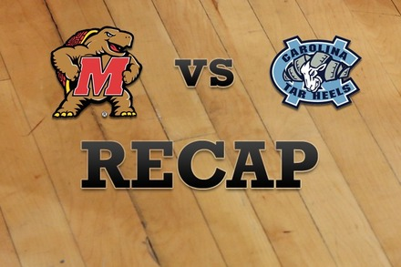 Maryland vs. North Carolina: Recap, Stats, and Box Score