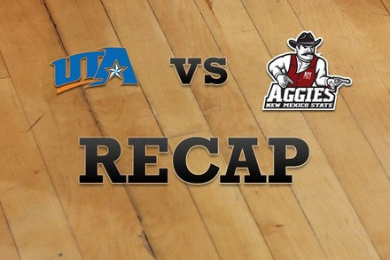 Texas-Arlington vs. New Mexico State: Recap, Stats, and Box Score