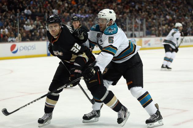 Ducks Beat Sharks 5-3