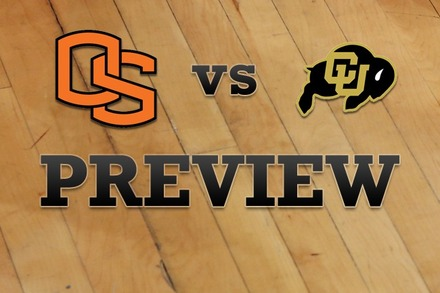 Oregon State vs. Colorado: Full Game Preview