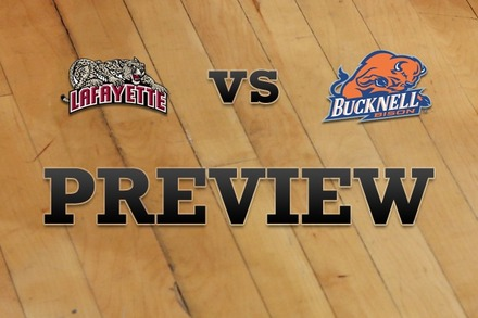 Lafayette vs. Bucknell: Full Game Preview