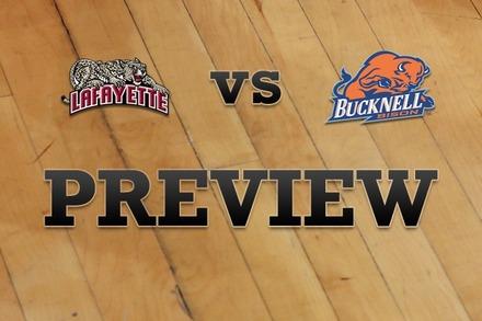 Lafayette vs. Bucknell: Full Game Preview
