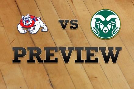 Fresno State vs. Colorado State: Full Game Preview