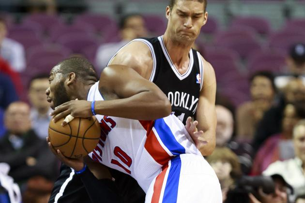 Pistons Offer a No-Fire Response to Coach's Return in 37-Point Rout by Nets