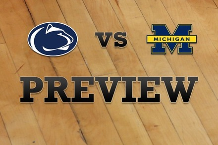 Penn State vs. Michigan: Full Game Preview