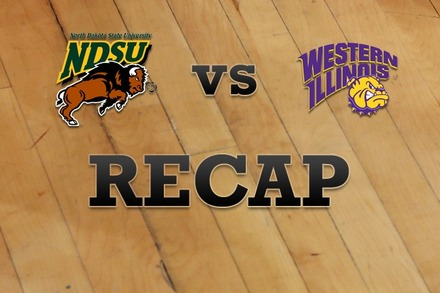 North Dakota State vs. Western Illinois: Recap, Stats, and Box Score