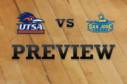 UTSA vs. San Jose State: Full Game Preview