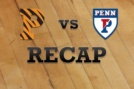 Princeton vs. Penn: Recap, Stats, and Box Score
