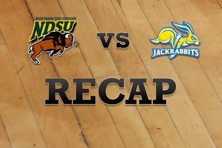 North Dakota State vs. South Dakota State: Recap, Stats, and Box Score