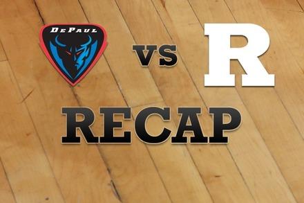 DePaul vs. Rutgers: Recap, Stats, and Box Score