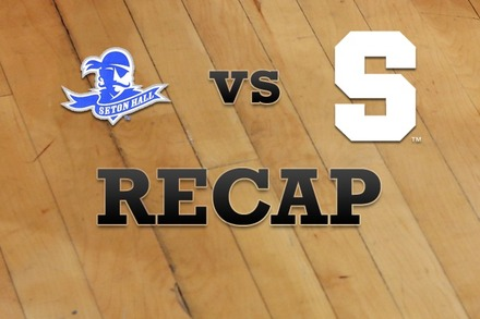 Seton Hall vs. Syracuse: Recap, Stats, and Box Score