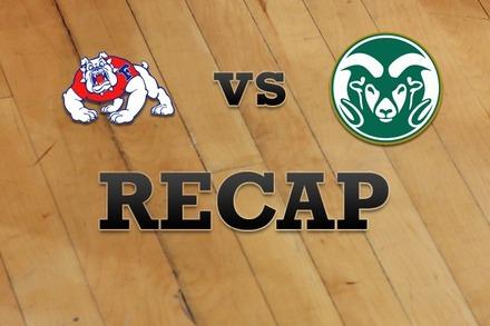 Fresno State vs. Colorado State: Recap, Stats, and Box Score