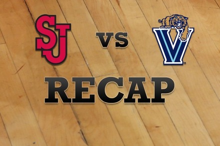 St John's vs. Villanova: Recap, Stats, and Box Score