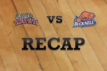 Lafayette vs. Bucknell: Recap, Stats, and Box Score
