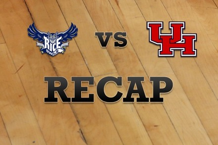 Rice vs. Houston: Recap, Stats, and Box Score