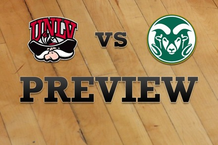 UNLV vs. Colorado State: Full Game Preview