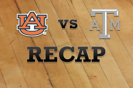 Auburn vs. Texas A&M: Recap, Stats, and Box Score
