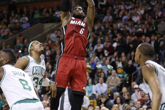 Video: LeBron Hits Game-Winning Jumper vs. Celtics