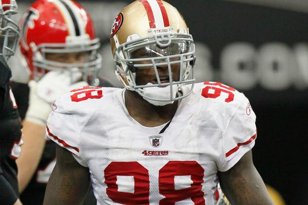 Report: LB Haralson Will Take Pay Cut to Stay with 49ers