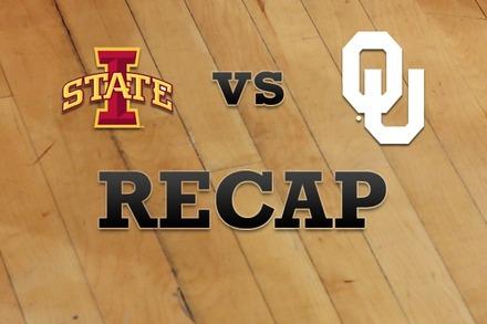 Iowa State vs. Oklahoma: Recap, Stats, and Box Score