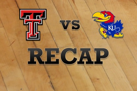 Texas Tech vs. Kansas: Recap, Stats, and Box Score