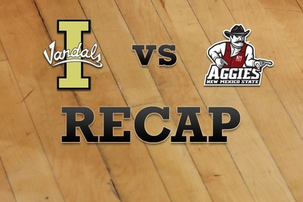 Idaho vs. New Mexico State: Recap, Stats, and Box Score