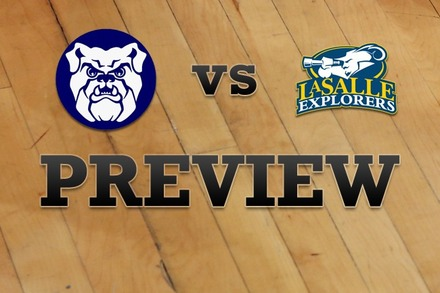 Butler vs. La Salle: Full Game Preview