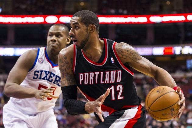 Aldridge's Shot Misses and Blazers Fall to Philadelphia 101-100