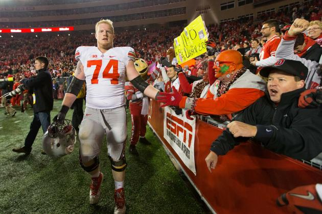 Ohio State Football: Urban Meyer Says LT Jack Mewhort Will Be a Captain in 2013