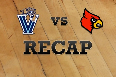 Villanova vs. Louisville: Recap, Stats, and Box Score