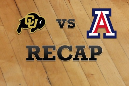 Colorado vs. Arizona: Recap, Stats, and Box Score