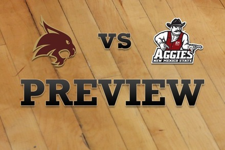 Texas State vs. New Mexico State: Full Game Preview