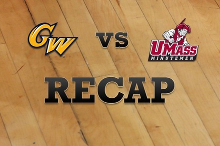 George Washington vs. Massachusetts: Recap, Stats, and Box Score