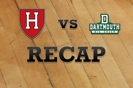 Harvard vs. Dartmouth: Recap, Stats, and Box Score