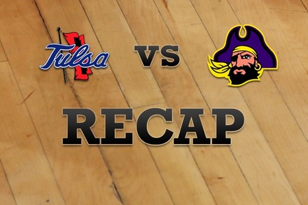 Tulsa vs. East Carolina: Recap, Stats, and Box Score