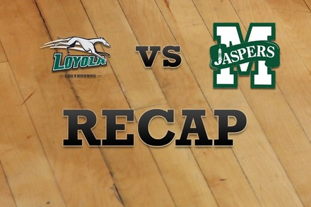 Loyola (MD) vs. Manhattan: Recap, Stats, and Box Score